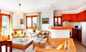 Area soggiorno di Villa 14BA - 14BB