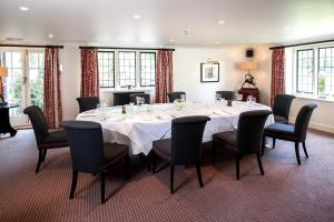 A restaurant or other place to eat at The Slaughters Country Inn