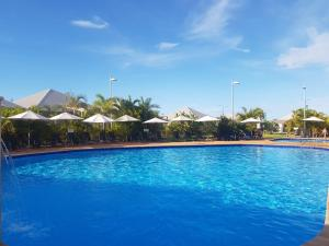 The swimming pool at or near Exmouth Escape Resort