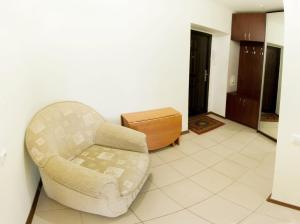 Гостиная зона в 1-room Apartment in city Centre on Maksima Gorkogo street 83