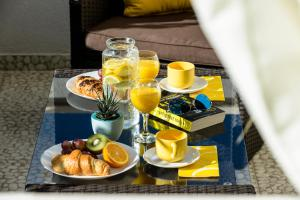 Breakfast options available to guests at Apartments Anamarija
