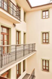 Балкон или терраса в Arkada Hotel Praha
