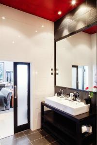 A bathroom at Malmaison Edinburgh
