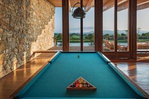 A pool table at Hotel Fasano Boa Vista