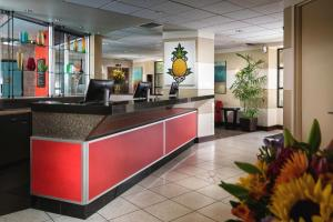The lobby or reception area at Staypineapple, University Inn, University District Seattle