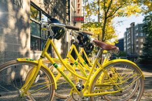 Biking at or in the surroundings of Staypineapple, University Inn, University District Seattle