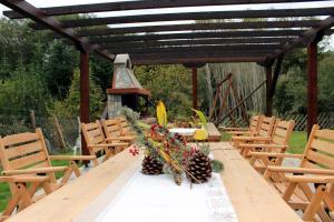 Εγκαταστάσεις μπάρμπεκιου για όλους τους επισκέπτες της παραθεριστικής κατοικίας