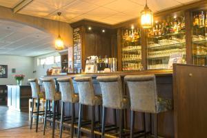 The lounge or bar area at Landgoed Hotel Tatenhove Texel