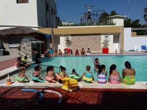 The swimming pool at or near Matum Hotel & Casino