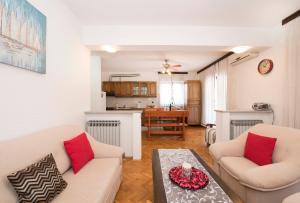 Posezení v ubytování Apartment Kurbasa