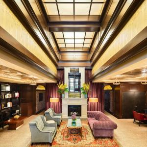 The lobby or reception area at Walker Hotel Greenwich Village