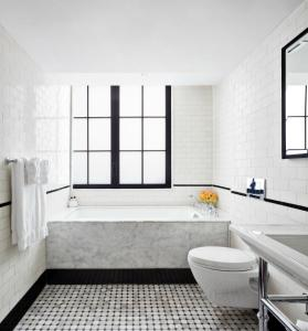 Salle de bains dans l'établissement Walker Hotel Greenwich Village
