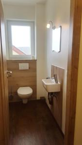 A bathroom at Pension Christina