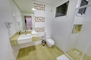 Um banheiro em Select Hotel