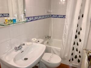 Un baño de Hotel Rural Tia Margot