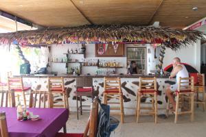 The lounge or bar area at Sundown Resort