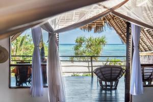 A balcony or terrace at Sunshine Hotel Zanzibar