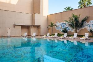 The swimming pool at or near Le Meridien Jeddah