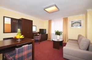 Część wypoczynkowa w obiekcie Resort Plaza Spa