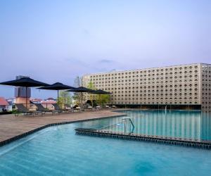The swimming pool at or close to U Nimman Chiang Mai