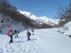 Super Hydrogen Rich Spa Yado Kanzan during the winter