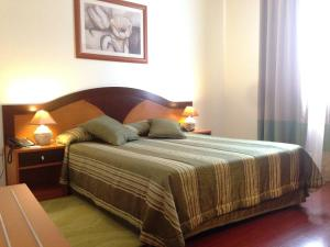A bed or beds in a room at Hotel Vale Verde