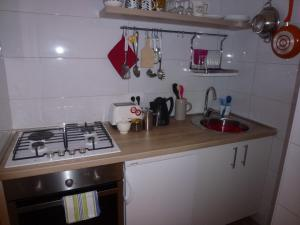 A kitchen or kitchenette at Villa Fede