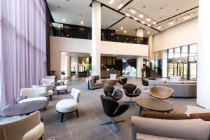 The lounge or bar area at Hotel Nanta Jeju
