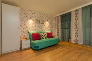 Кровать или кровати в номере Апартаменты на Куйбышева 23 #3