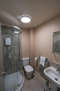 A bathroom at Morecambe Rooms