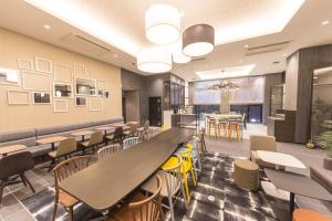 A restaurant or other place to eat at Hotel M's Plus Shijo Omiya