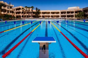 The swimming pool at or near Occidental Lanzarote Mar
