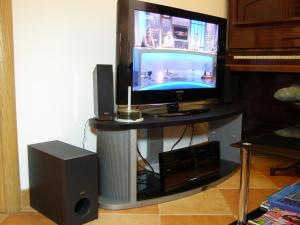 A television and/or entertainment center at Split Artistic Apartments