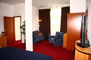 Гостиная зона в Saraya Wellness & Penzion