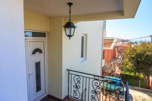 A balcony or terrace at Apartments Aleksić