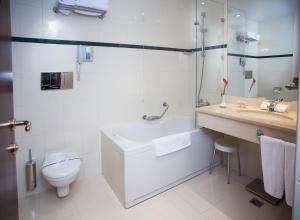 A bathroom at Hotel Otrada