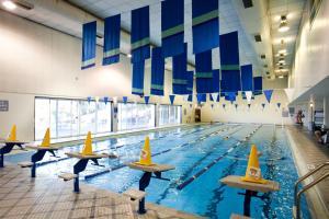 The swimming pool at or near Spokane Club Hotel
