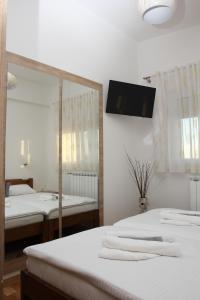 Krevet ili kreveti u jedinici u objektu Apartmani Ivana