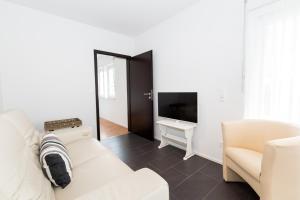Телевизор и/или развлекательный центр в Sarnen Apartment 1