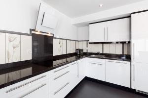 Küche/Küchenzeile in der Unterkunft Superior Apartment Sarnen