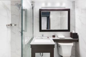 A bathroom at Ottawa Embassy Hotel & Suites