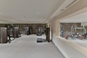 Das Fitnesscenter und/oder die Fitnesseinrichtungen in der Unterkunft Hotel Trofana Royal