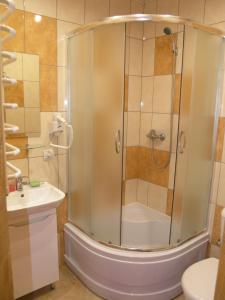 A bathroom at Sadyba Bilya Richky