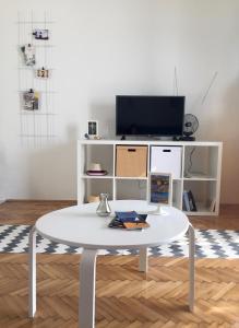 Telewizja i/lub zestaw kina domowego w obiekcie Villa Terasa