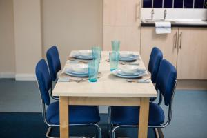 A restaurant or other place to eat at Newport Student Village (Campus Accommodation)