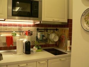 A cozinha ou cozinha compacta de Casa Di Giovanna