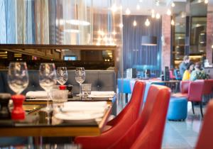 A restaurant or other place to eat at Malmaison Birmingham