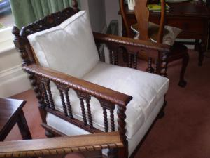 A bed or beds in a room at Badger Towers