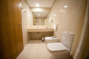 Salle de bains dans l'établissement Hotel Bagoeira