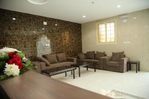 Uma área de estar em Andalusia Hotel Apartments
